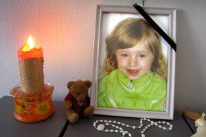 Mirka zomrela týždeň pred svojimi tretími narodeninami.