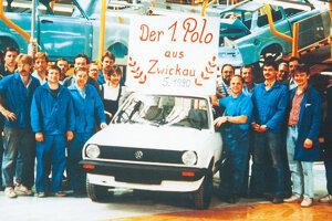 Istý čas sa na jednej linke v Zwickau spolu vyrábali východonemecký Trabant 1,1 a západonemecký Volkswagen Polo.
