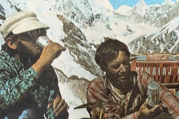 Fotografia z prvej československej expedície na Makalu v roku 1973.
