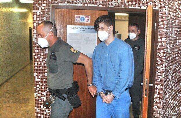 Marek na krajskom súde. K zníženému trestu dostal aj príhovor predsedu senátu.