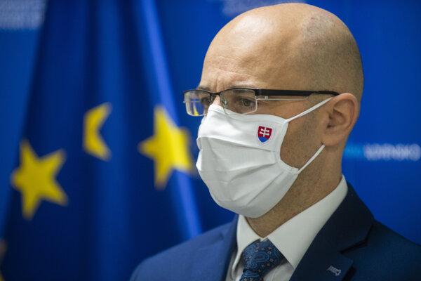 Štátny tajomník ministerstva financií Ľuboš Jančík.