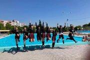 Tanečný klub NOVUM otvorilo v sobotu Letné kúpalisko v Topoľčanoch.