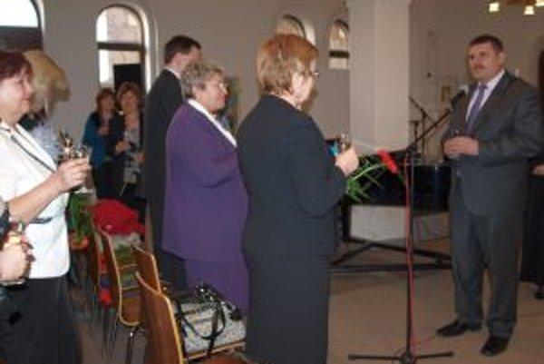 Slávnostný prípitok predniesol viceprimátor Štefan Štefek.