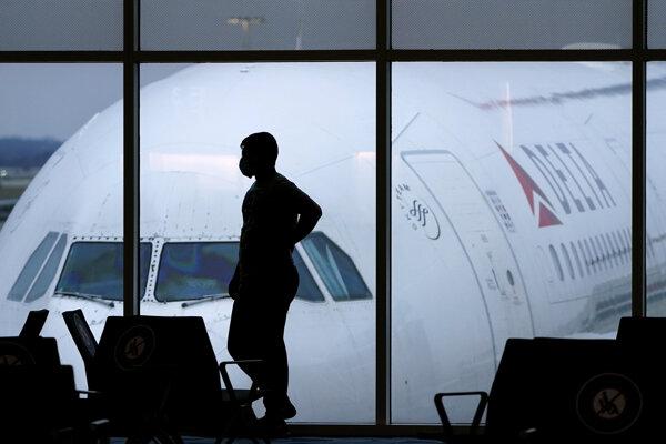 Fotografia z medzinárodného letiska v Atlante.