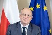 Poľský minister zahraničných vecí Zbigniew Rau. Na Slovensku bol na bezpečnostnej konferencii GLOBSEC 2021.