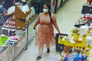 Žena, ktorá by mohla objasniť krádež v Dubnici nad Váhom.