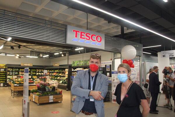Supermarket Tesco sa nachádza na prízemí OD Prior Nitra.