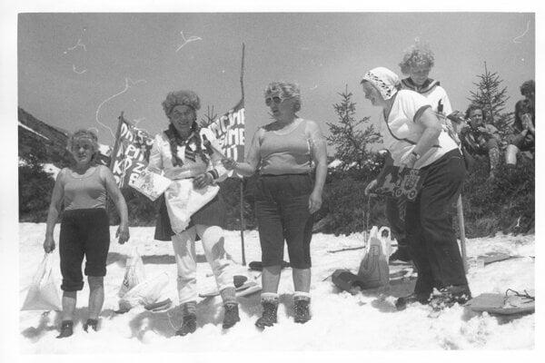 10. mája 1986. Rozlúčka so snehom.