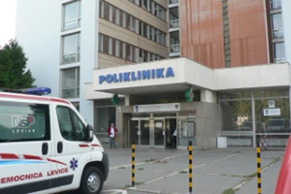 Nemocnica v Leviciach.