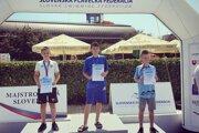 1. miesto: Tomáš Žuffa (J&T Sport Team), 2. miesto: Daniel Malachovský (PK Banská Bystrica ), 3. miesto: Samuel Daraboš (MPK Delfín L.Mikuláš ).