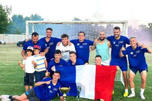 Víťazný tím Francúzsko.