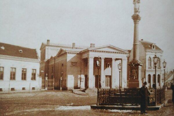 Národné divadlo Nitrianskej župy vroku 1903.