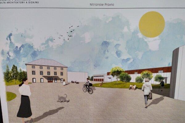 Z bývalého priemyselného areálu by podľa budúcich architektov mohol vzniknúť moderný priestor súctou khistorickým pamiatkam.