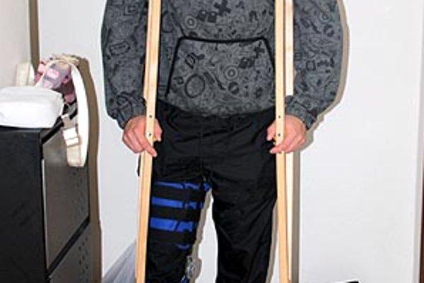 Milan Šándor, opora Vrábeľ, je po artroskopii kolena.