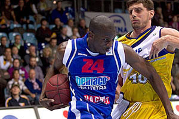 Dobrý zápas odohral Mamadi Diané, autor 18 bodov.