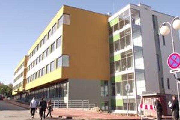 Nový nemocničný pavilón.