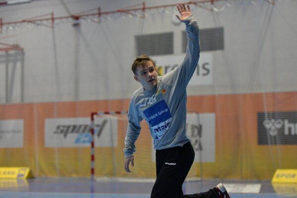 Debutant Samuel Fábry nastupuje po prvýkrát ako hráč A-tímu Krems v prvej lige v Rakúsku v semifinále.
