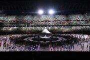 Otvárací ceremoniál olympijských hier v Tokiu.
