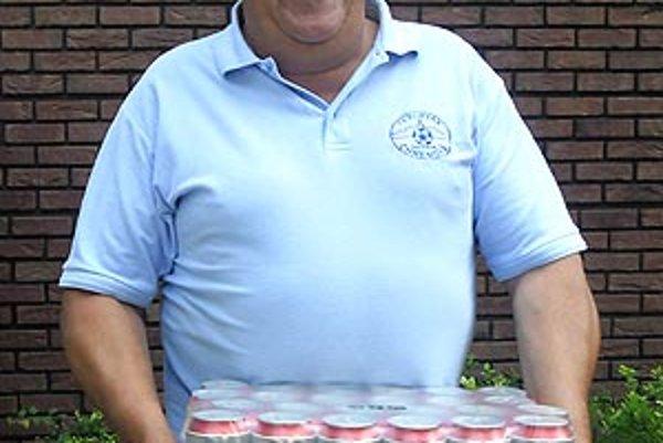 Pre kartón piva Corgoň si prišiel víťaz 6. kola Vladimír Krajčovič z Nitry.