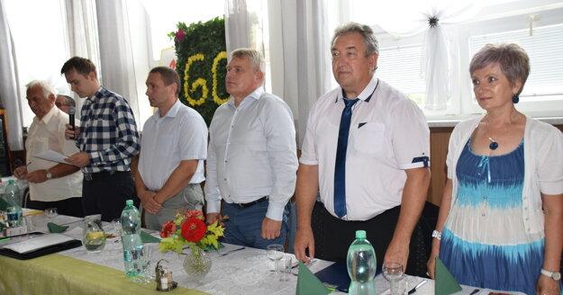 Na slávnostnú schôdzu prijali pozvanie aj rôzni zaujímaví hostia.