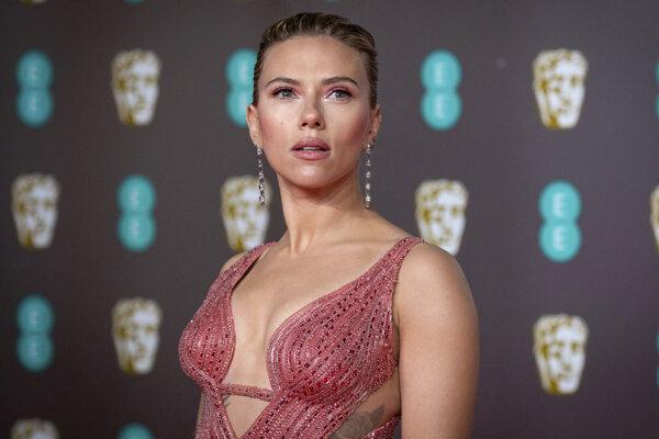 Herečka Scarlett Johanssonová.