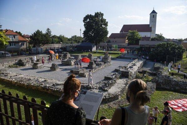 Areál Múzea Antická Gerulata v bratislavskej mestskej časti Rusovce 12. septembra 2020.