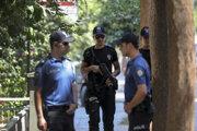 Príslušníci tureckej polície. Ilustračná fotografia.