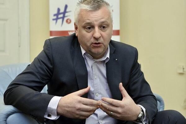 Marian Korytiak na fotke spred niekoľkých rokov.