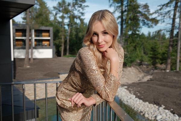 Lucia Nováková sa uchádza o titul Miss Slovensko 2021.