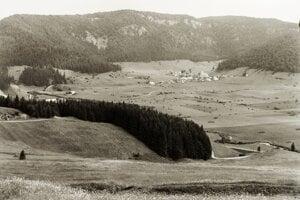 Dedinky, alebo v tom čase Imrikfálva. Rok 1938.