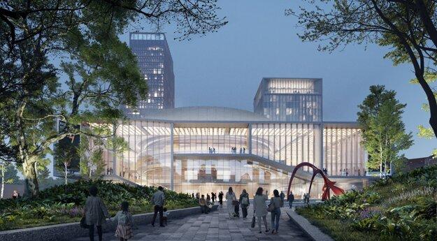 Nový Istropolis bude mať moderné kongresové centrum aj dva bytové domy.