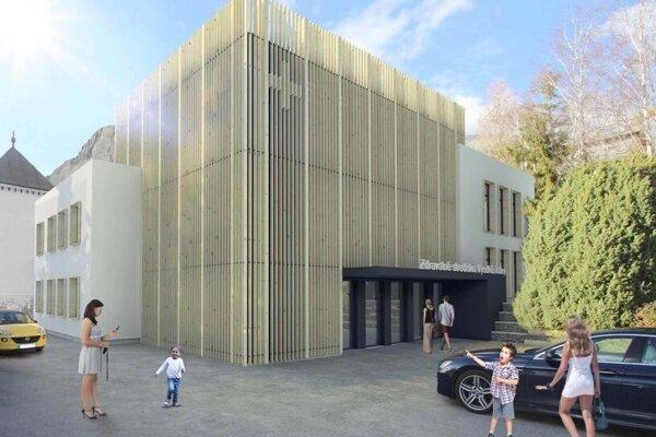 Vizualizácia nového centra.
