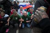 Polícia zasiahla proti blokáde antivaxerov pri Hodžovom námestí