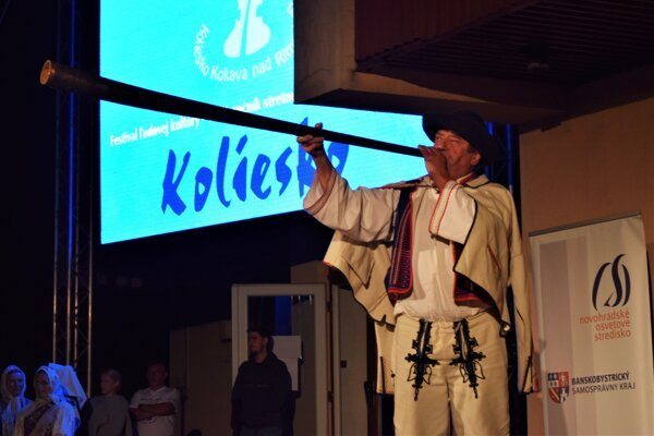 Koliesko začalo včera v Kokave nad Riavicou a v sobotu pokračuje  programom na miestnom amfiteátri.