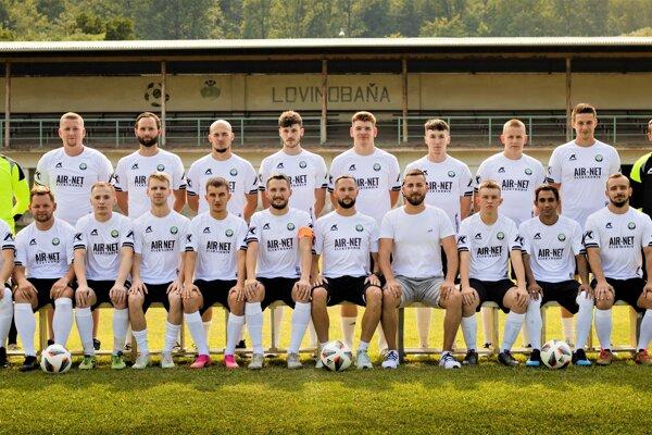 Hráčsky káder FK Lovinobaňa pred štartom sezóny 2021/2022 ObFZ Lučenec