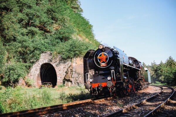 Jazda historickým vlakom je skutočným zážitkom.