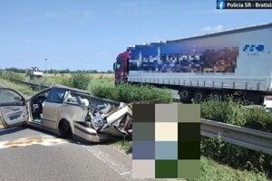 Z miesta nehody.