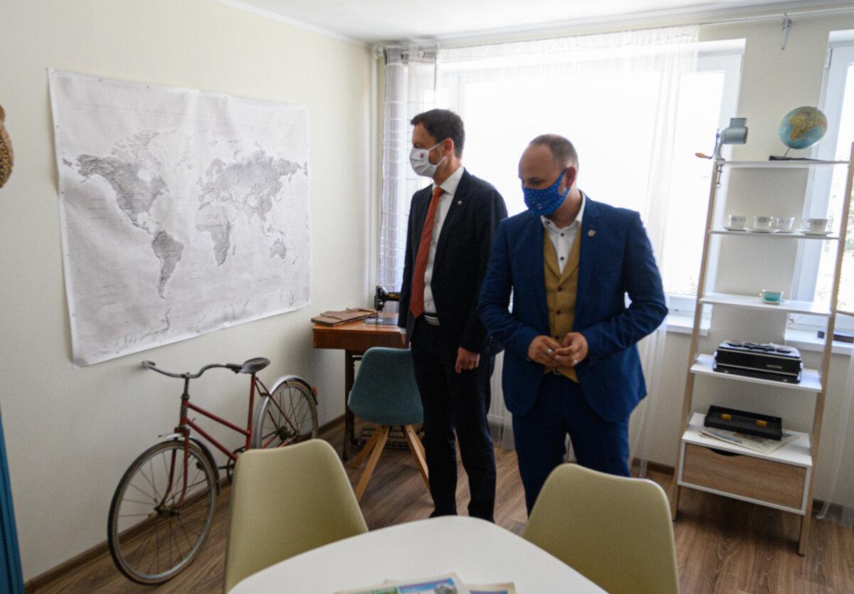 V zmene zariadenia Čistý deň na Centrum sociálnych služieb vidí Heger svetlú budúcnosť - SME