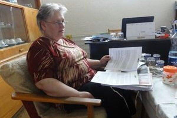 Mária Tóthová spolu s ostatnými obyvateľmi bytovky zvažuje, že sa obrátia na súd.