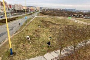 Tu by mohol stáť do roka nový skejtpark.