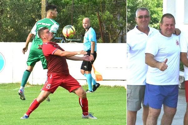 Peter Peciar (v červenom) ako hrajúci tréner v Nedede skončil. Výbor už našiel nového kouča.