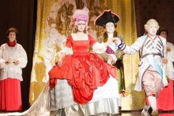 V DAB prešovskí herci odohrajú muzikál Mária Antoinetta.