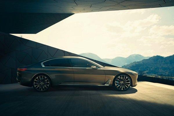 Štúdia BMW Vision Future Luxury.