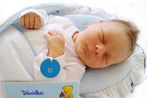 Dávid Hoffmann z Prievidze sa narodil 9. 8.  2021 v Bojniciach
