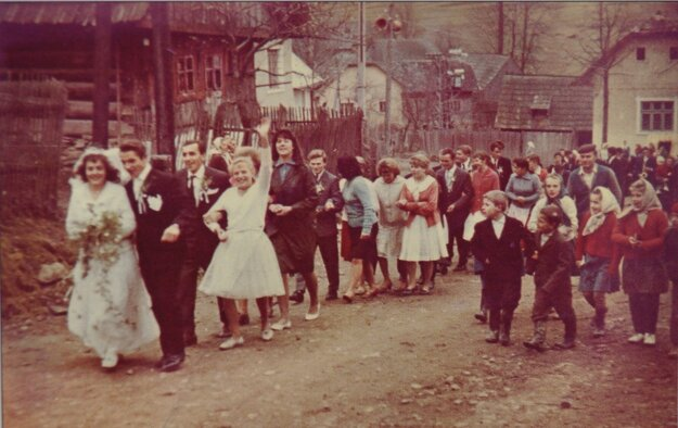 Svadba v Beňadove.