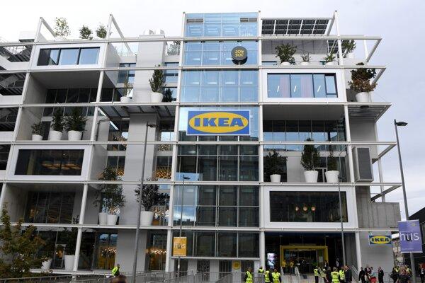Nová Ikea v Viedni