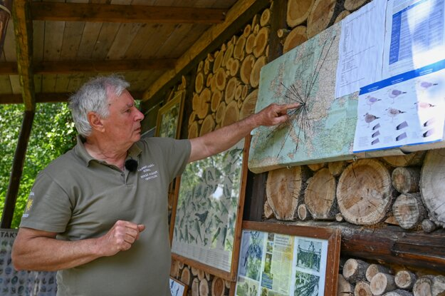Ornitológ Erich Kubica