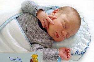 Timotej Baláž z Lazian sa narodil 25. 8. 2021 v Bojniciach