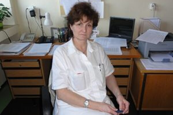 Epidemiologička Iveta Šuleková.