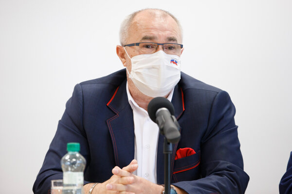 Prezident Konfederácie odborových zväzov Marián Magdoško.